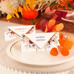 WIZYTÓWKA personalizowana Barwy Jesieni