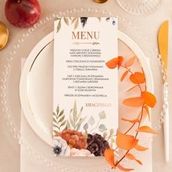 MENU weselne Barwy Jesieni