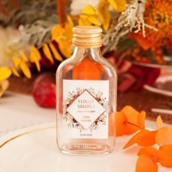BUTELECZKA na alkohol dla gości Barwy Jesieni (+ etykieta)