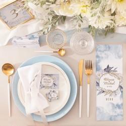 CZEKOLADKA ślubna personalizowana Coś Niebieskiego
