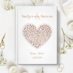 KSIĘGA GOŚCI wspomnienia ślubne Kwiat Paproci A5