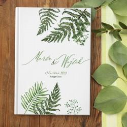 KSIĘGA GOŚCI wspomnienia ślubne Botanica A5