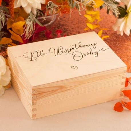 NADRUK na pudełko z prezentem dla Świadka