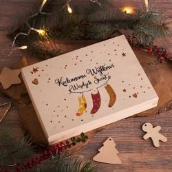 PREZENT na Święta Bożego Narodzenia SKARPETY na wesoło