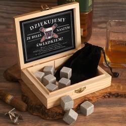 SKRZYNKA Podziękowanie dla Świadka Kamienie do Drinków/Whiskey