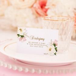 BILECIK podziękowanie personalizowany Rocznica Ślubu