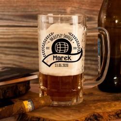 KUFEL do Piwa Podziękowanie Dla Świadka PERSONALIZOWANY