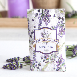 SASZETKA pachnąca na upominek dla gości Kolekcja Lawenda