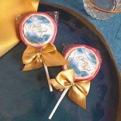 LIZAKI podziękowanie Kolekcja Złoto-Granatowa 10szt (+etykiety)