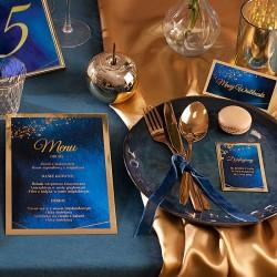 CZEKOLADKA ślubna personalizowana Kolekcja Granatowa