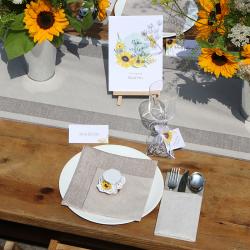MENU weselne Kolekcja Słoneczniki