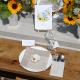 PUDEŁKA na ciasto z IMIONAMI Kolekcja Słoneczniki 10szt