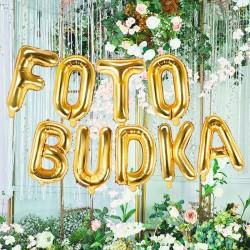 BANER dekoracyjny FOTO BUDKA balony foliowe