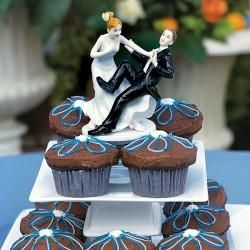 FIGURKA na tort weselny Niezdarny Pan Młody