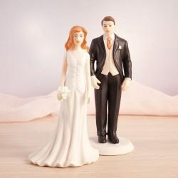 FIGURKA na tort weselny Klasyczna