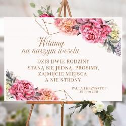 PLAKAT personalizowany Sweet Peony WYBIERZ ROZMIAR