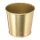 WAZONIK/OSŁONKA metaliczna złota 9,5cm