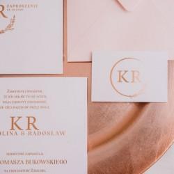 ZAPROSZENIE ślubne personalizowane Kolekcja Modern