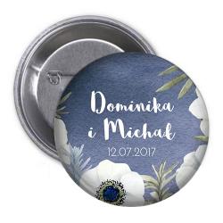 PRZYPINKA kotylion personalizowana Kolekcja Anemony