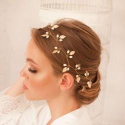 OPASKA ślubna do włosów dla Panny Młodej Lea