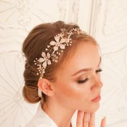 OPASKA ślubna do włosów dla Panny Młodej Elsa