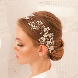 OPASKA ślubna do włosów dla Panny Młodej Astrid