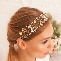 OPASKA ślubna do włosów dla Panny Młodej Clara