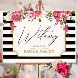 PLAKAT personalizowany Kolekcja Wedding WYBIERZ ROZMIAR