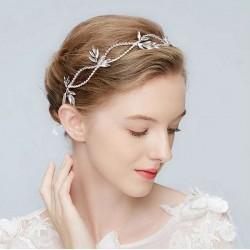 OPASKA ślubna do włosów dla Panny Młodej Elizabeth