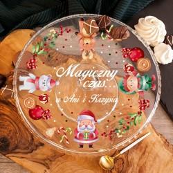 PATERA na Świąteczne Wypieki Mikołaj i Przyjaciele PERSONALIZOWANA