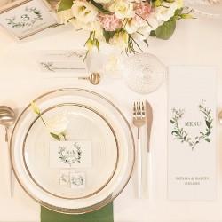 JOJO upominek dla gości weselnych Delikatne Lilie Z IMIONAMI (+ naklejki)