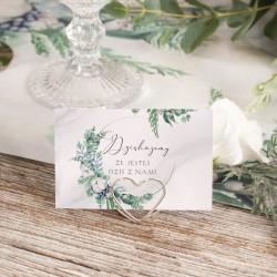 Uchwyty, stojaki do winietek w kształcie serca. Idealna dekoracja na weselny stół!