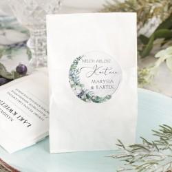 WORECZEK z nasionami Niech Miłość Kwitnie. Podziękowanie dla gości weselnych.