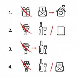 ZAPROSZENIE ślubne personalizowane Kolekcja Obrączki