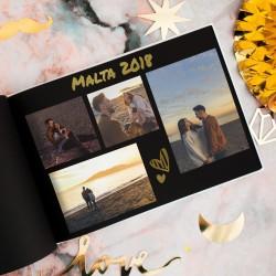 ALBUM do zdjęć personalizowany prezent na Rocznicę Razem