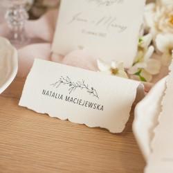 WIZYTÓWKA personalizowana Romantyczny Ślub