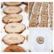 WIZYTÓWKI uniwersalne krążki z drewna 6szt
