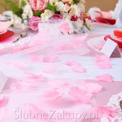PŁATKI róż na ślub 100szt