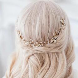 GRZEBYK ślubny do włosów dla Panny Młodej Vanessa