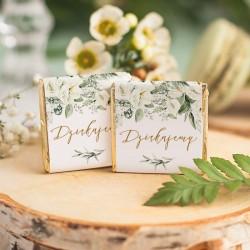 Czekoladka na upominek ślubny dla gości. Idealny podarunek dla bliskich w postaci czekoladek w ozdobnym opakowaniu.