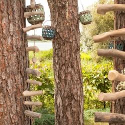GIRLANDA dekoracja wisząca z drewna Styl BOHO
