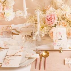 ZAWIESZKA na mini szampana dla gości weselnych Aksamitne Złoto