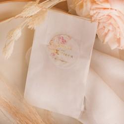 NASIONKA kwiatów upominek dla gości weselnych Aksamitne Złoto