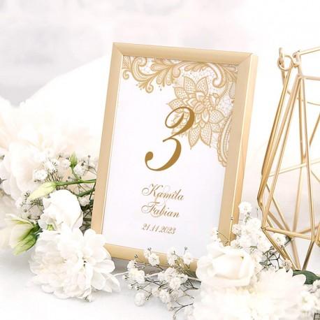 TABLICZKA na stolik z personalizacją Elegancja