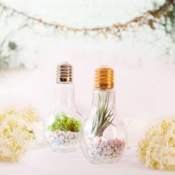 ŻARÓWKA pojemnik do napojów/dekoracji 500ml