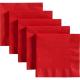 SERWETKI czerwone 33x33cm 20szt