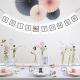 ROZETY dekoracyjne Luxury zestaw 5szt