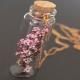 BUTELECZKA szklana z korkiem na upominek dla gości