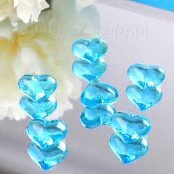 SERCA ozdobne na stoły Tiffany Blue 30szt