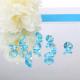 DIAMENCIKI ozdobne na stoły Tiffany Blue 2cm 10szt